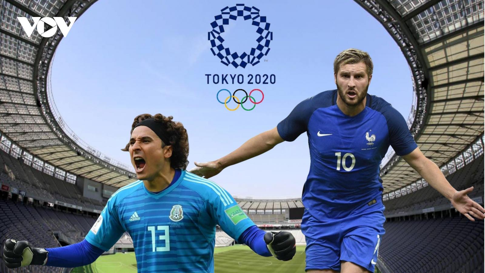 Dự đoán kết quả, đội hình xuất phát trận Olympic Mexico - Olympic Pháp