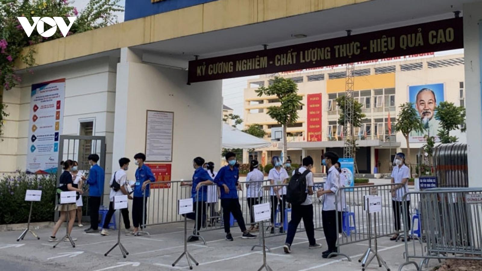 Students nationwide sit high school graduation exams