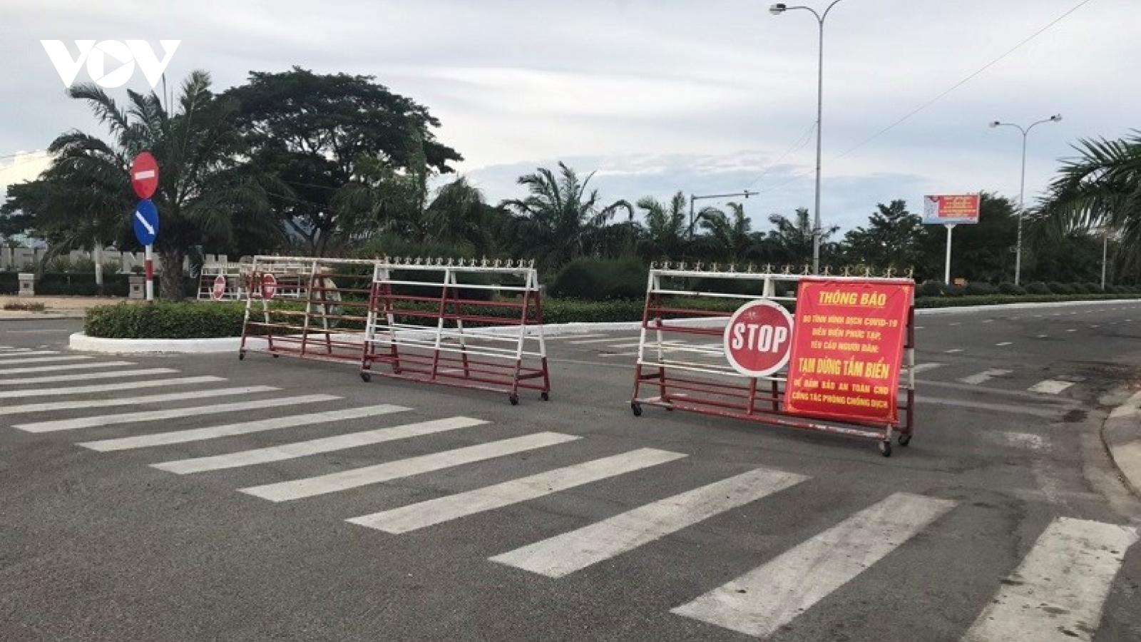Ninh Thuận thực hiện Chỉ thị 16 thêm 7 ngày tại một số địa phương