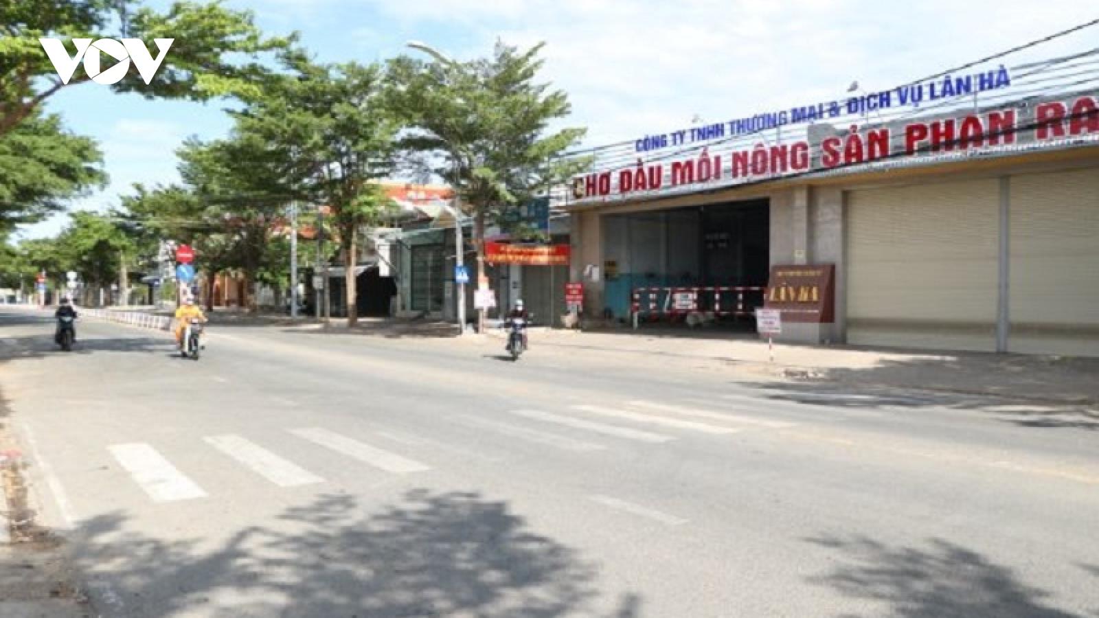 Thêm 36 ca mắc Covid-19 mới ởNinh Thuận và Bình Thuận