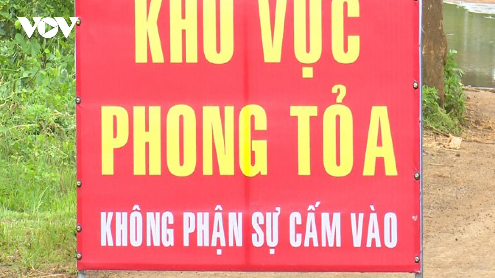 Đắk Nông cách ly y tế toàn bộ xã Đắk Wer để phòng, chống dịch Covid-19