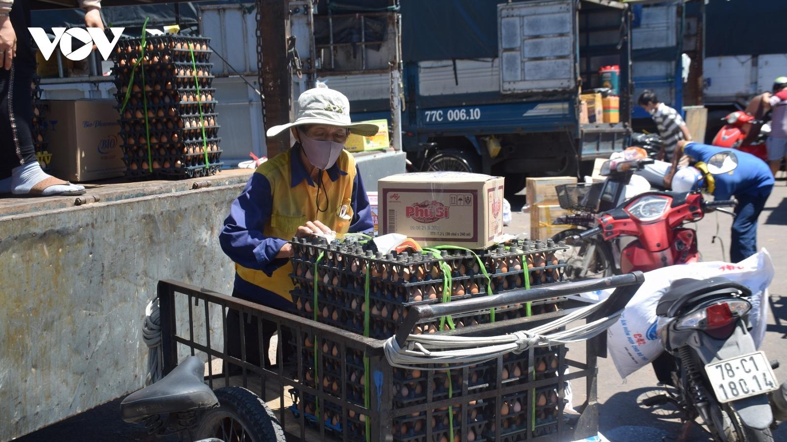 Phú Yên tạm dừng vận chuyển hàng hóa tại bến xe nội thành Tuy Hòa