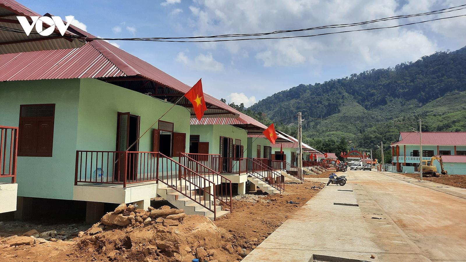 Quảng Nam đặt mục tiêu đến năm 2025 hoàn thành sắp xếp, ổn định dân cư miền núi