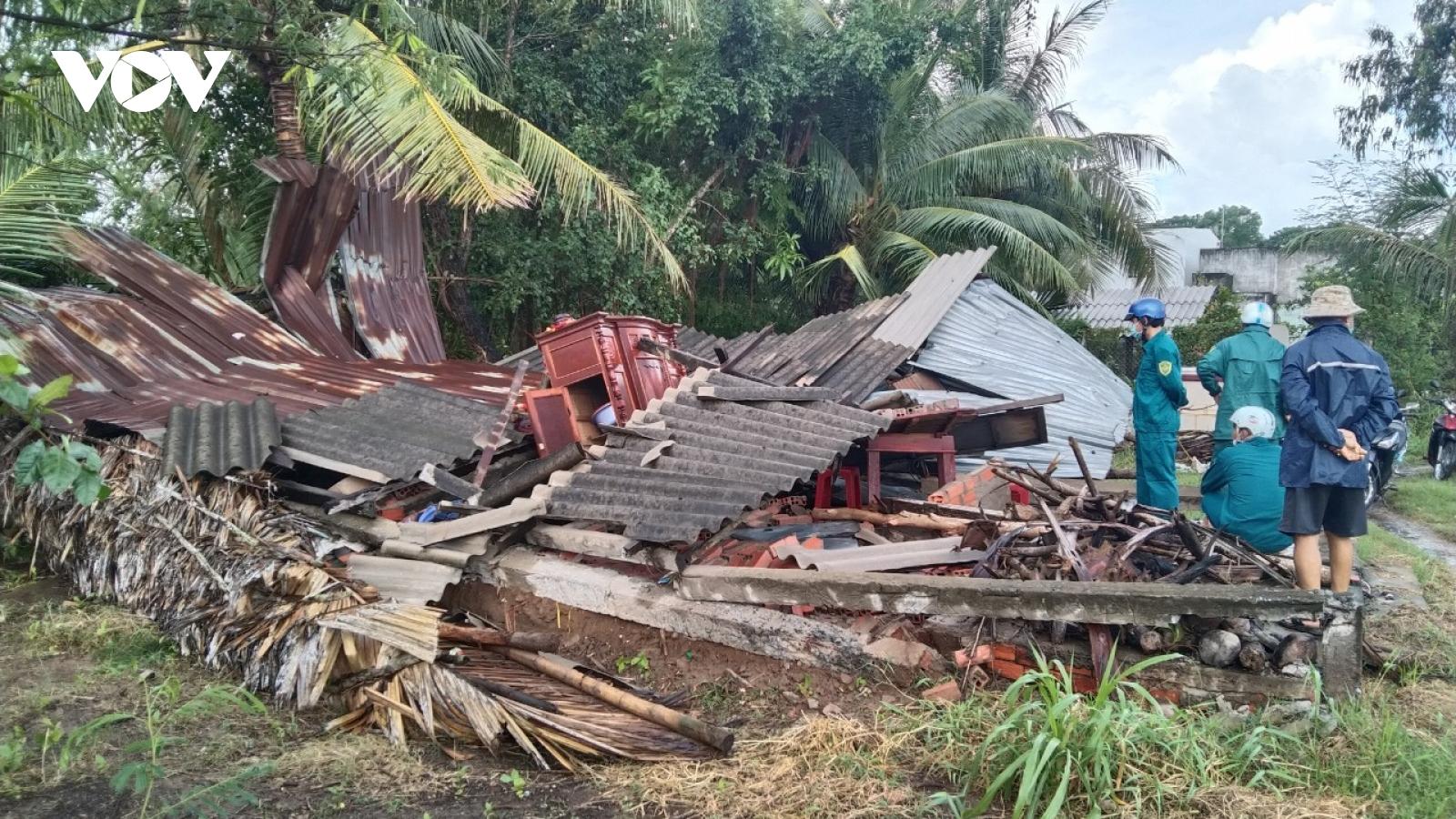 Thiên tai tiếp tục gây thiệt hại, nhiều hộ dân tại Bến Tre gặp khó khăn về nơi ở