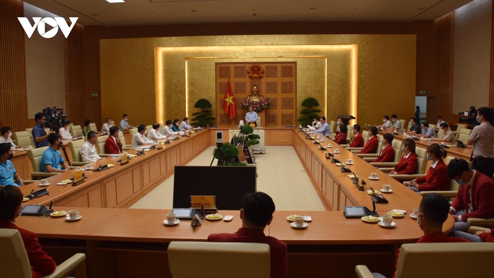 Thủ tướng Phạm Minh Chính: Tinh thần thi đấu thể thao của Việt Nam ngày càng kiên cường
