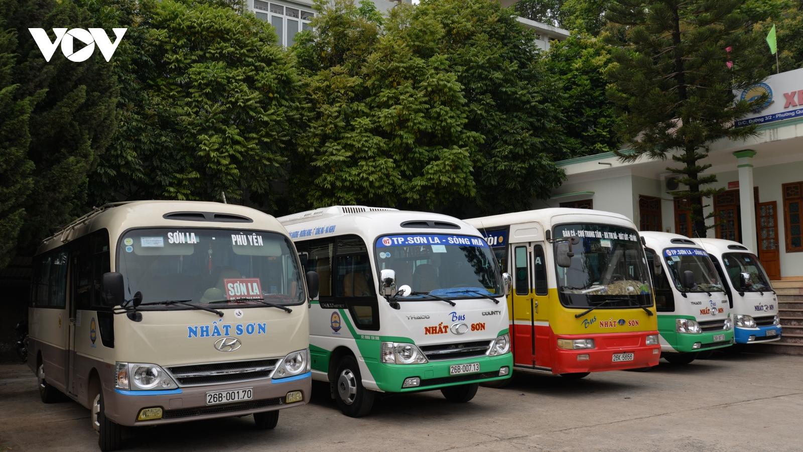 Sơn La tạm dừng hoạt động vận tải hành khách đi, đến huyện có dịch Covid-19