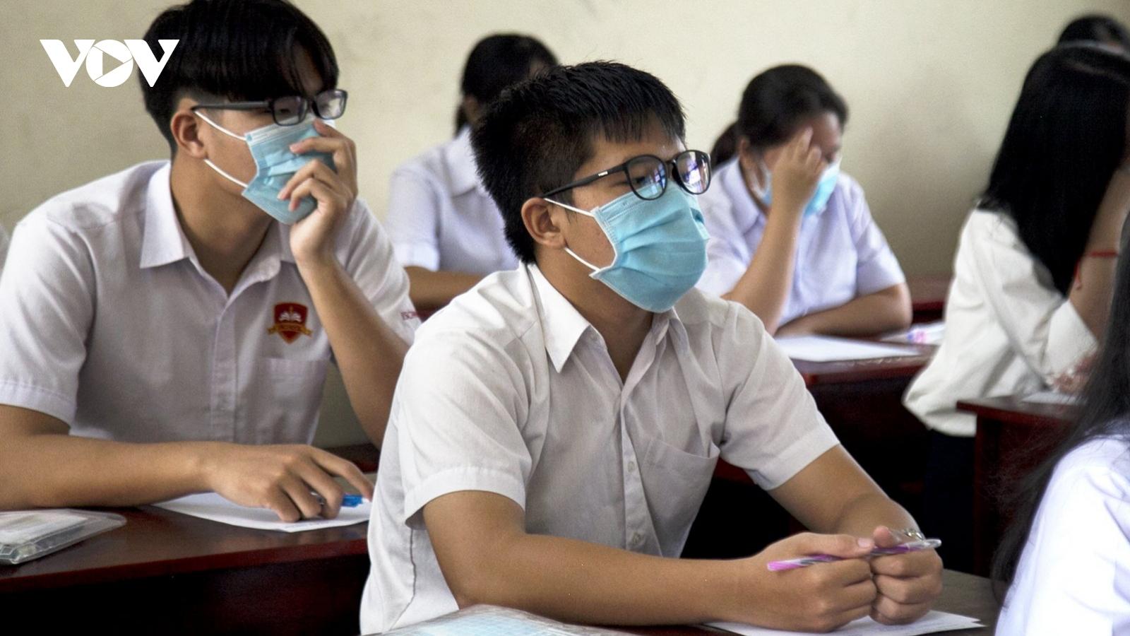 KiênGiang: Tỷ lệ đỗ tốt nghiệp THPT đợt 1 đạt 99,6%