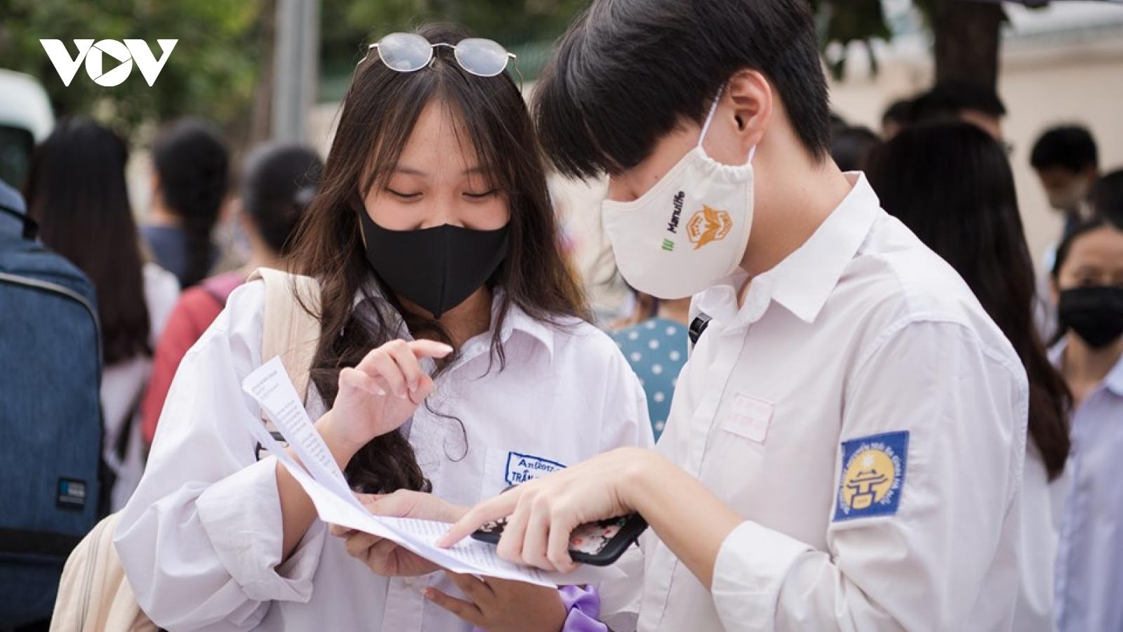 Hà Nội có 19 học sinh trúng tuyển 5 nguyện vọng vào lớp 10