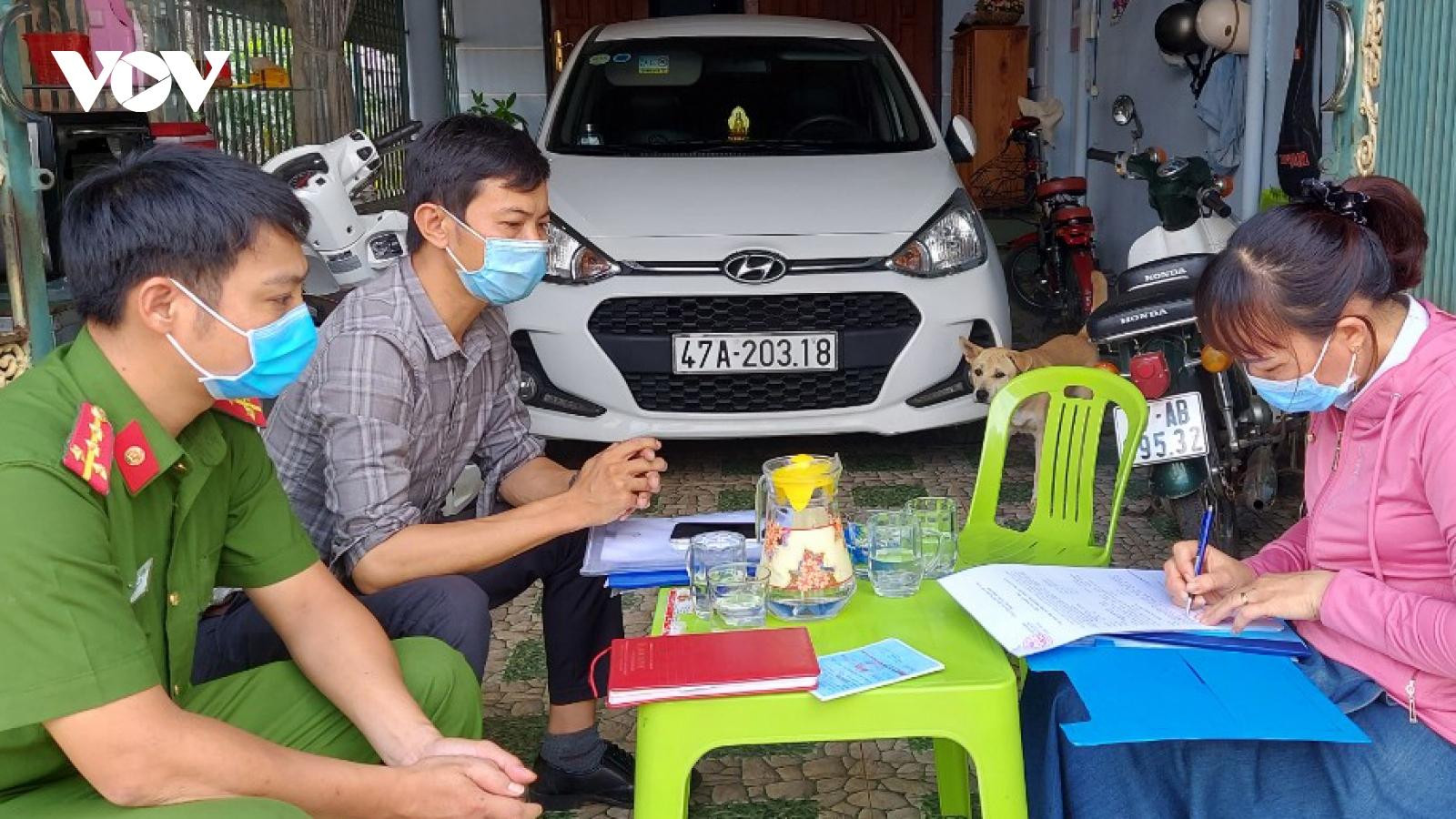 Trường hợp đầu tiên ởĐắk Lắk bị xử phạt vì không chấp hành quy định cách ly tại nhà