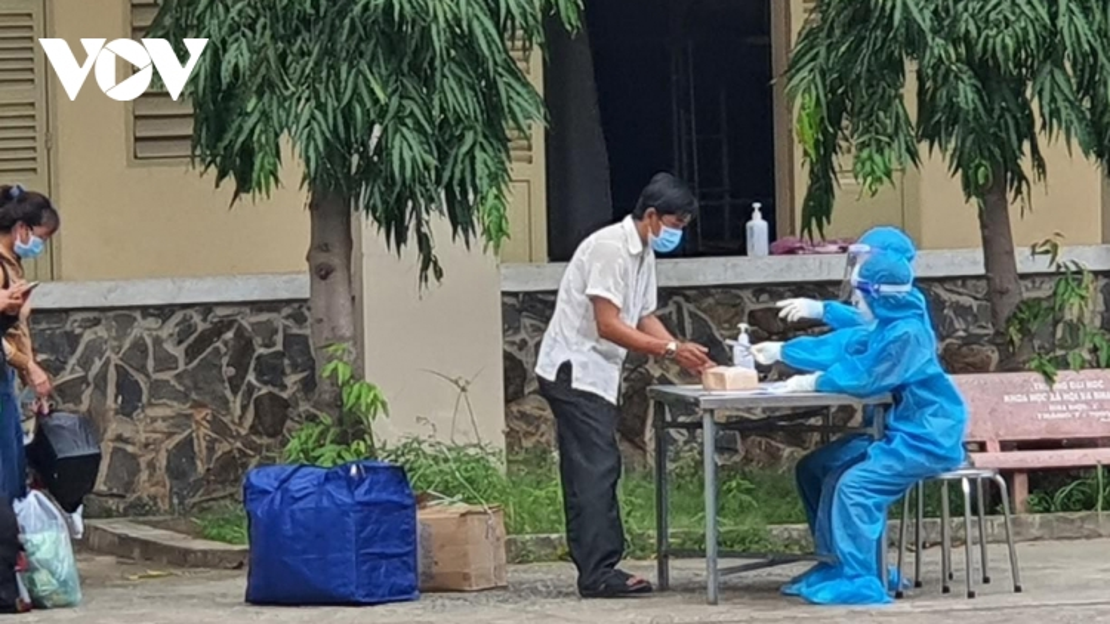 Hơn 1.700 bệnh nhân F0 tại Bệnh viện dã chiến số 1 TP.HCM được xuất viện