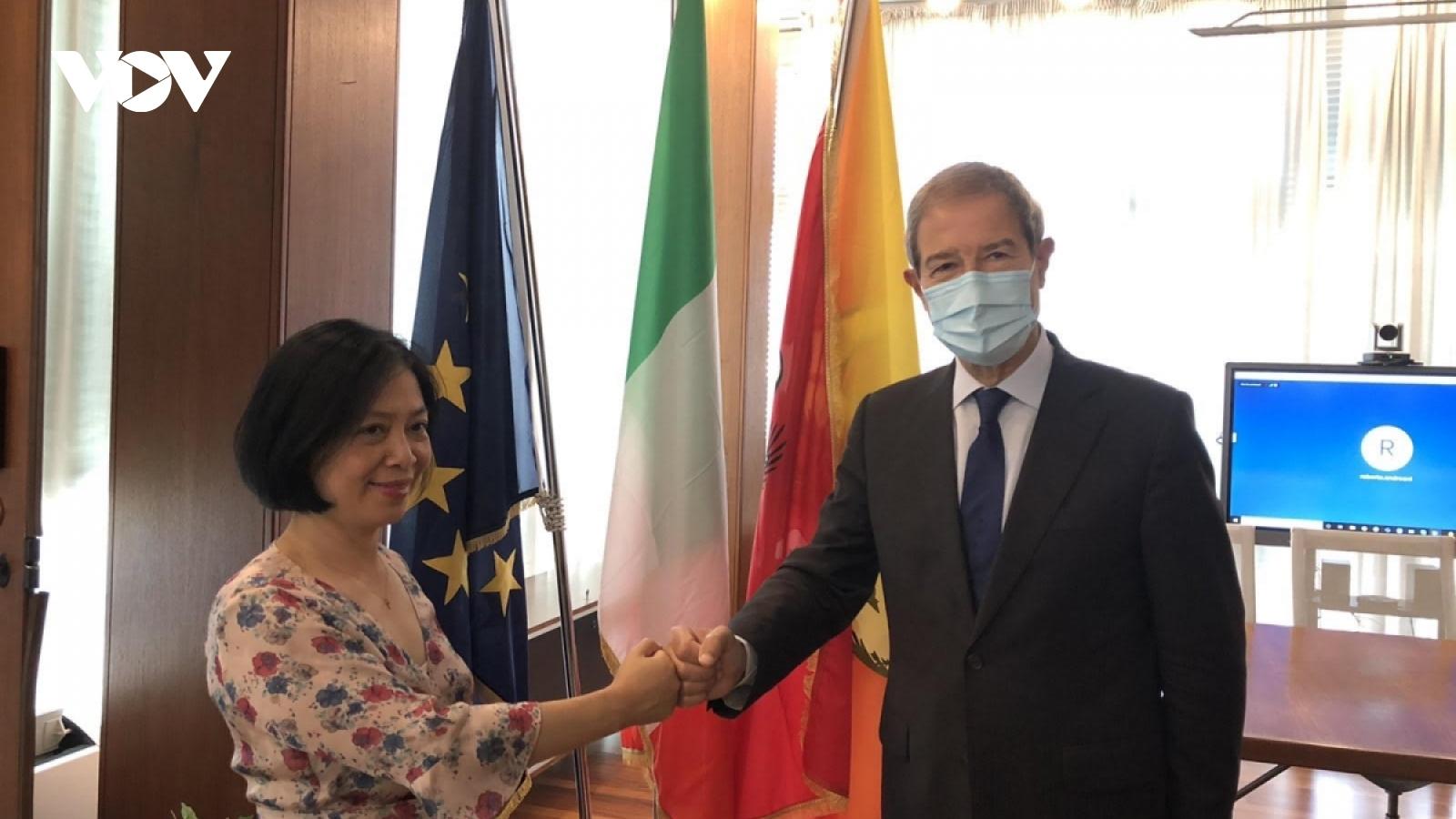 Vietnamese Ambassador aims to bolster co-operation with Italian region of Sicily