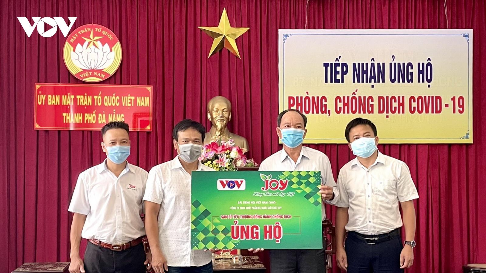 """VOV trao quà """"San sẻ yêu thương - Đồng hành chống dịch"""" tại các tỉnh miền Trung"""