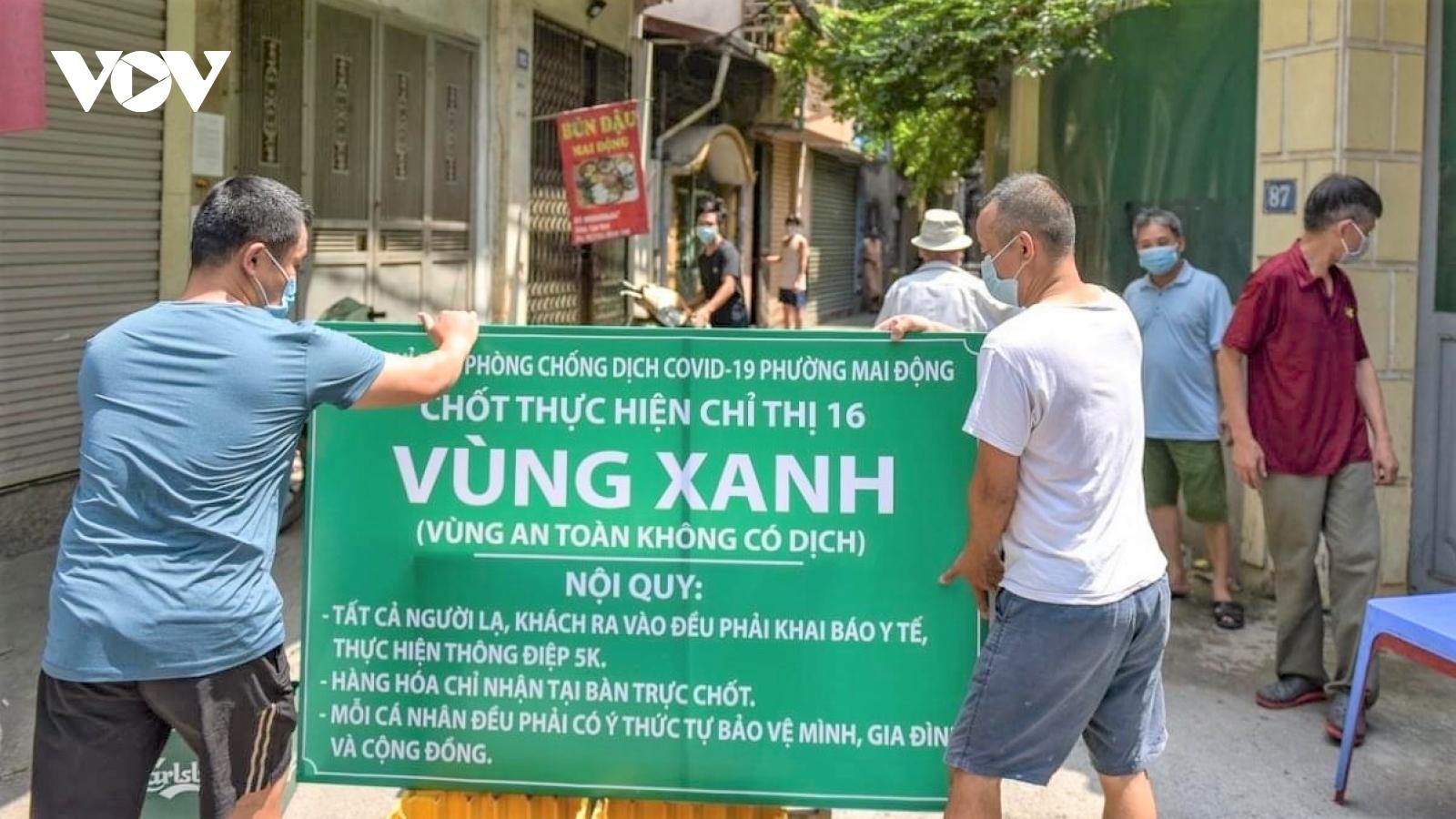 """Mở rộng """"vùng xanh"""" ở Hà Nội, thiết lập các công trình y tế cấp bách"""