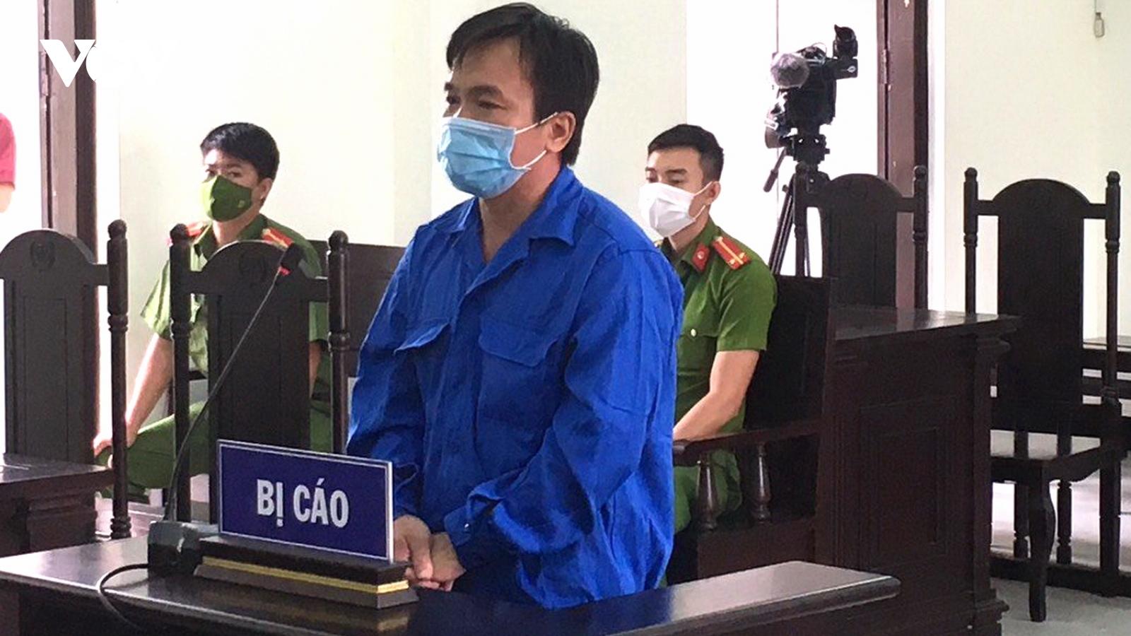 30 tháng tù cho tài xế đâm xe vào cán bộ CSGT trực chốt kiểm dịch Covid-19