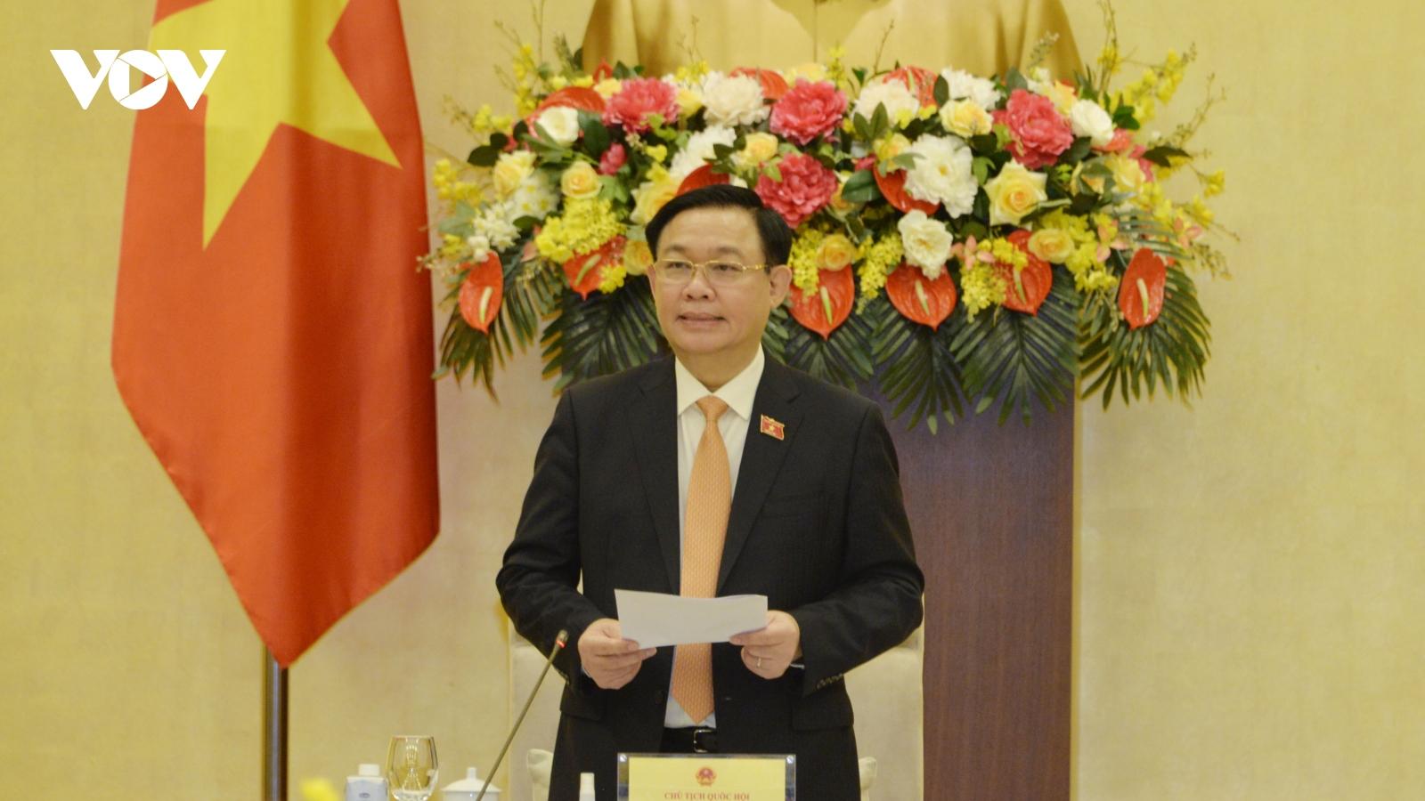Chủ tịch Quốc hội làm việc với Tổ công tác thực hiện nghị quyết về phòng, chống Covid-19
