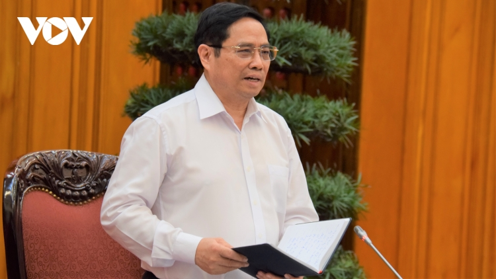 Thủ tướng Phạm Minh Chính: Lấy xã phường làm pháo đài chống dịch