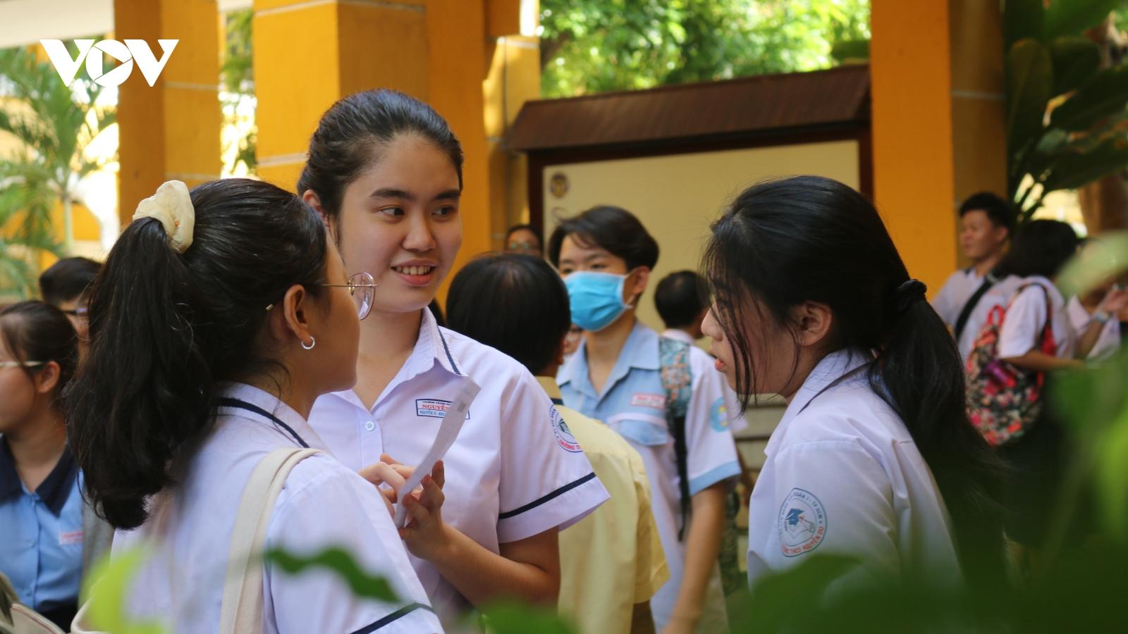 TP.HCM chốt phương án tuyển sinh vào lớp 10 bằng hình thức xét tuyển