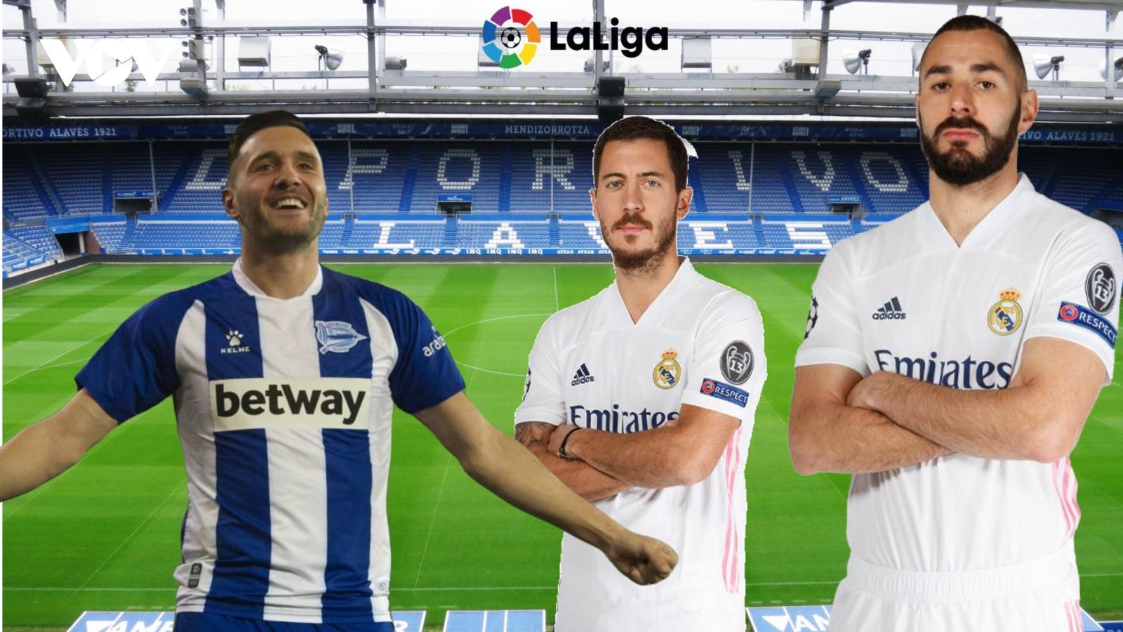 Dự đoán kết quả, đội hình xuất phát trận Alaves - Real Madrid