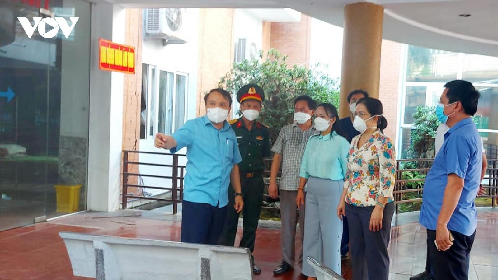 Nghệ An kích hoạt bệnh viện dã chiến số 4 với hơn 250 giường bệnh