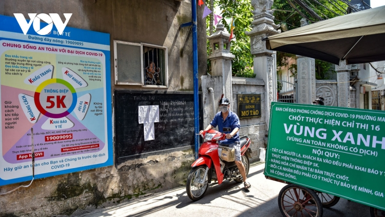 First pandemic-free areas against COVID-19 established in Hanoi