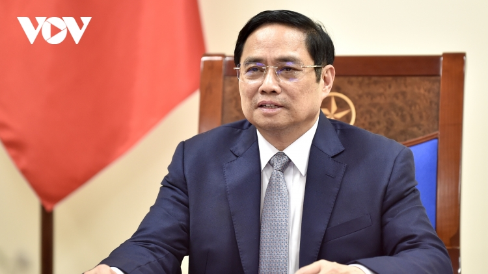 Thủ tướng Phạm Minh Chính điện đàm trực tuyến với Thủ tướng Bỉ