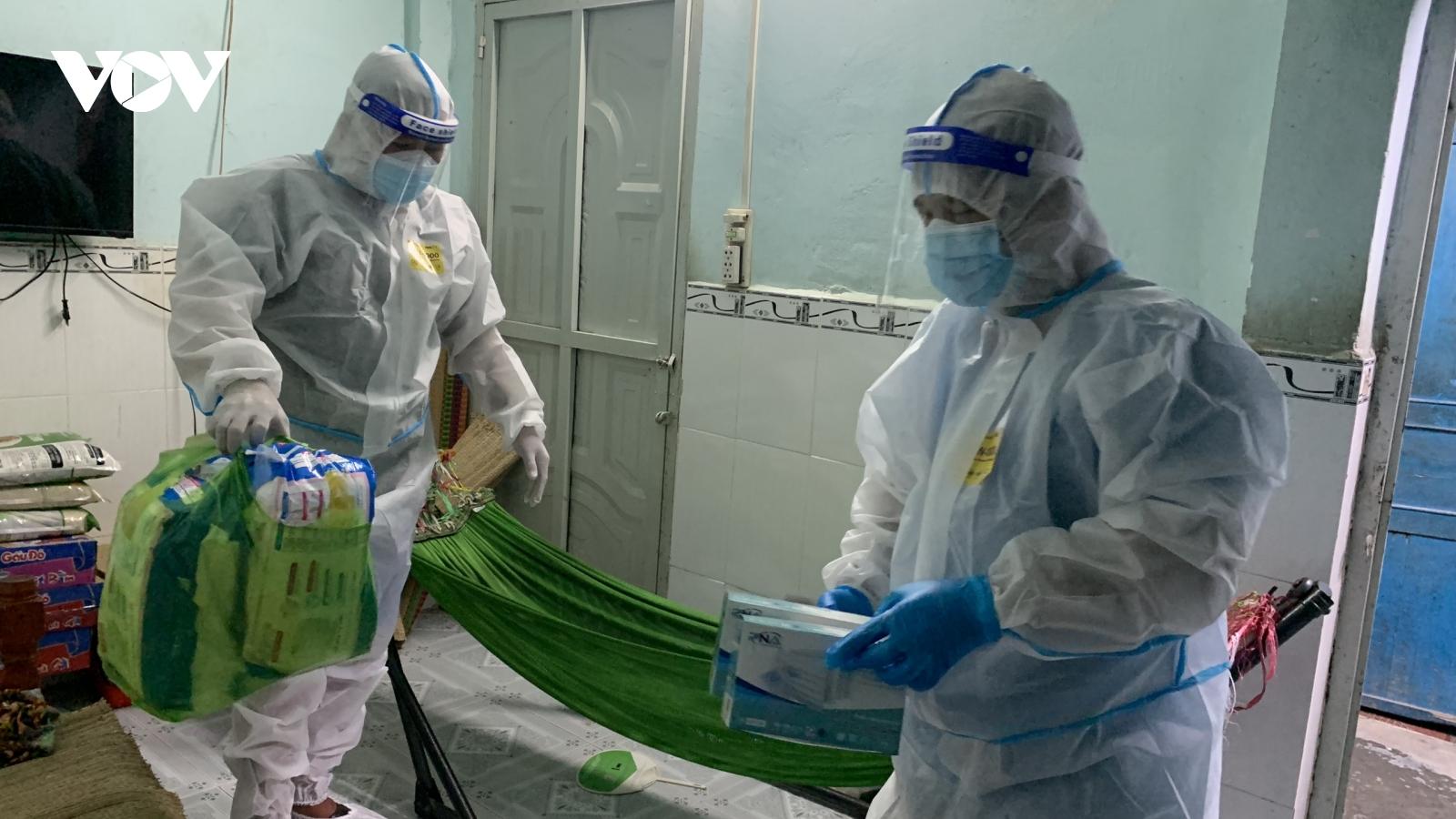 Trạm y tế lưu động tại TP.HCM: Đưa y tế gần hơn với F0 điều trị tại nhà
