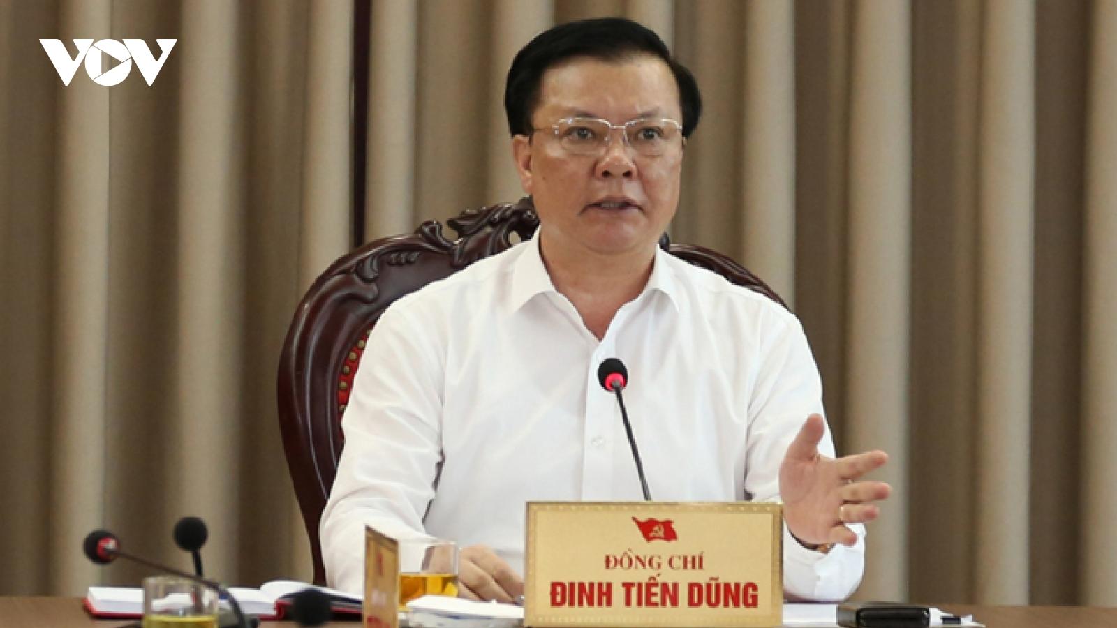 Thành ủy Hà Nội đề ra 7 nhiệm vụ cấp bách để phòng chống dịch