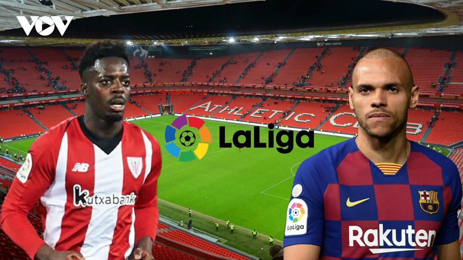 Dự đoán kết quả, đội hình xuất phát trận Bilbao - Barca