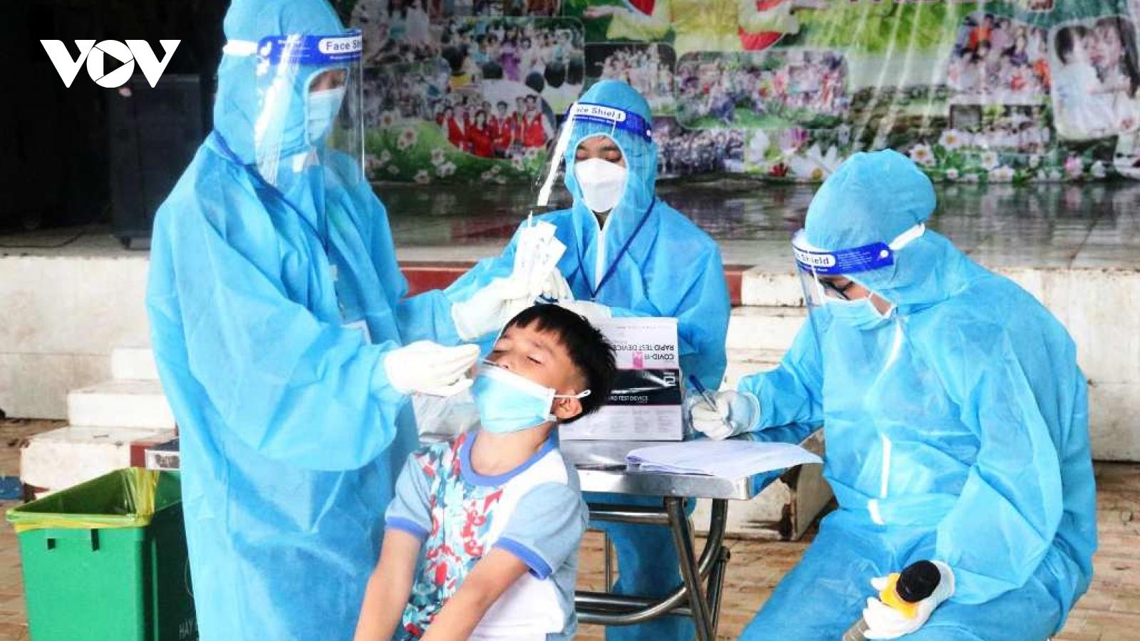 Trung tâm nhân đạo Quê Hương (Bình Dương) có 106 người nghi mắc COVID-19