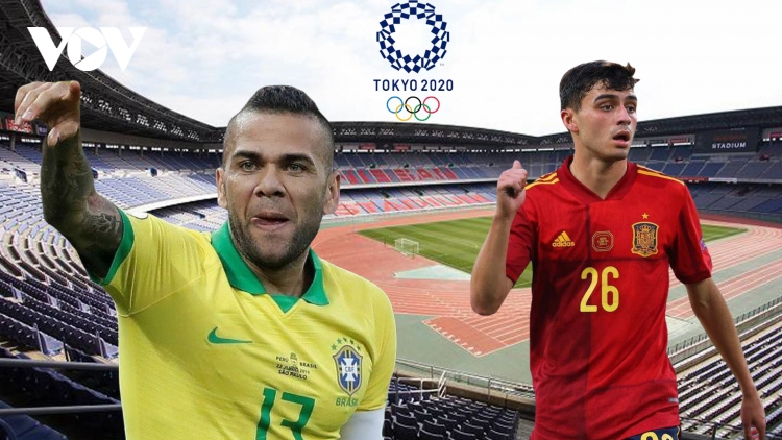 Dự đoán tỷ số, đội hình xuất phát trận Olympic Brazil - Olympic Tây Ban Nha