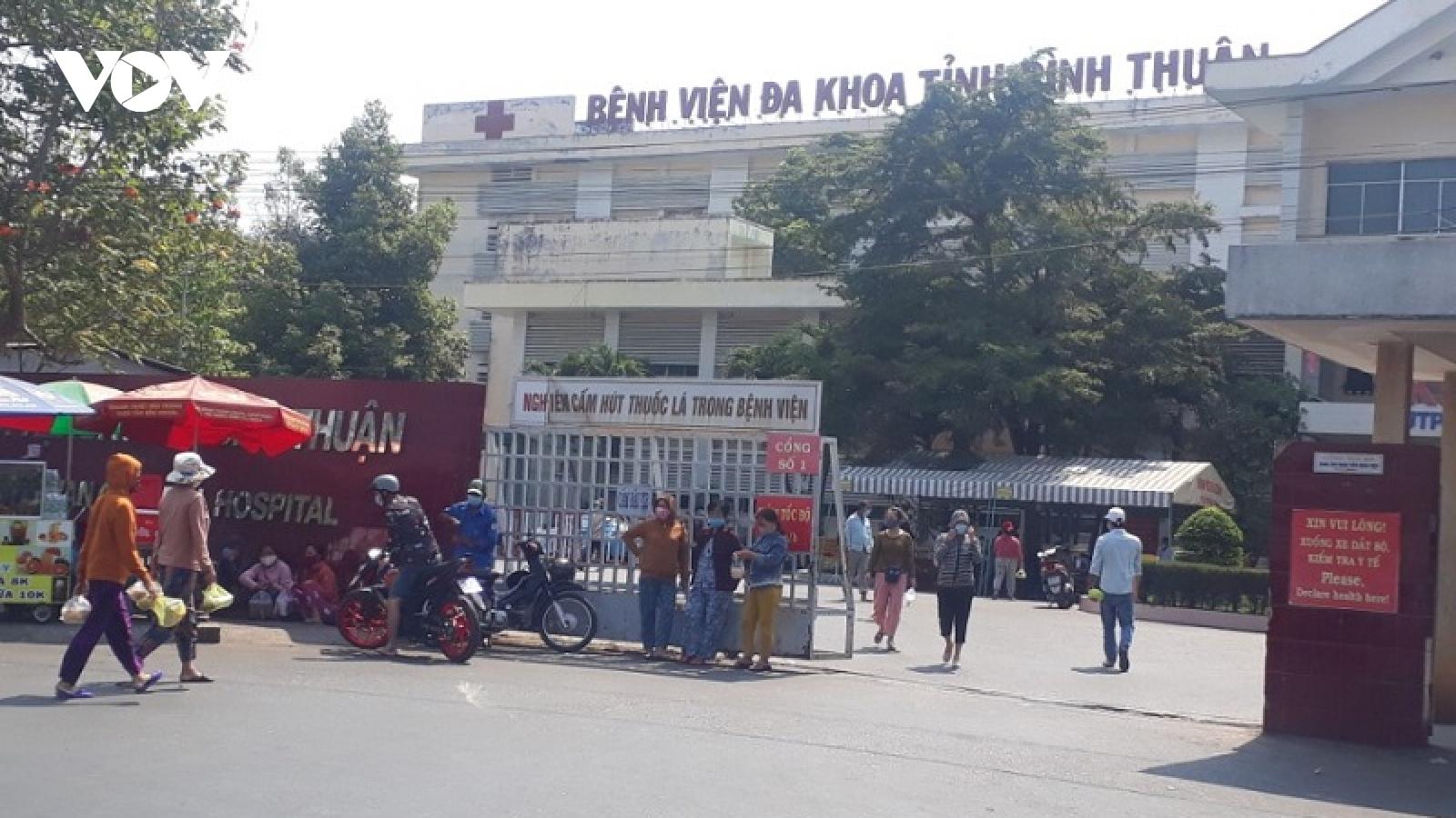 Bệnh viện ở Bình Thuận mổ bắt con thành công cho người mẹ mắc Covid-19