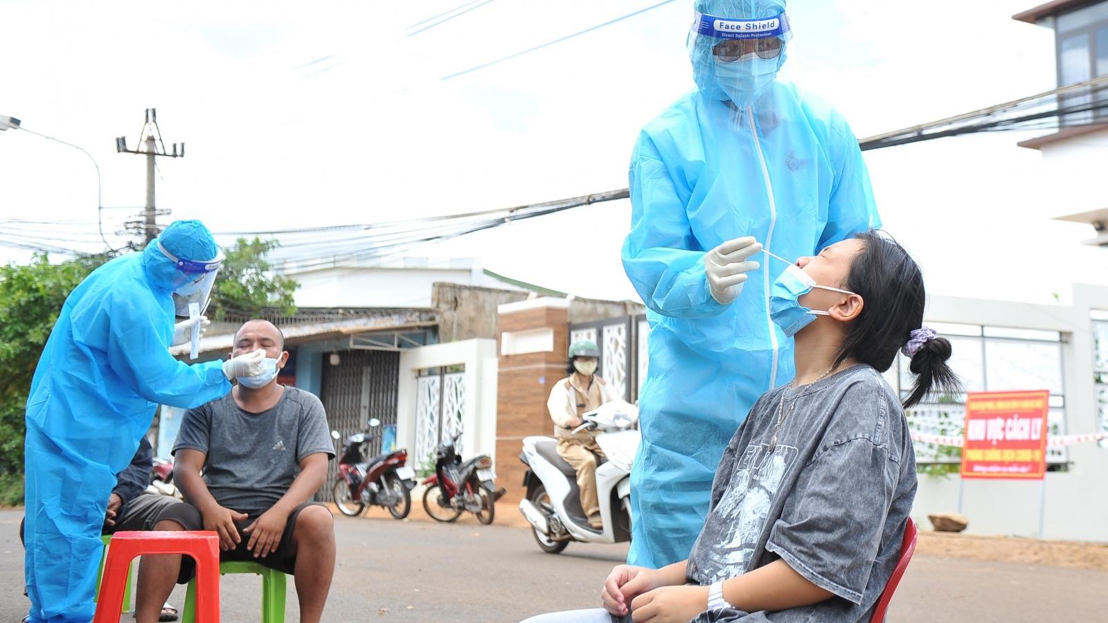 Nhiều ca cộng đồng, Đắk Lắk lên phương án test nhanh cho người dân Buôn Ma Thuột