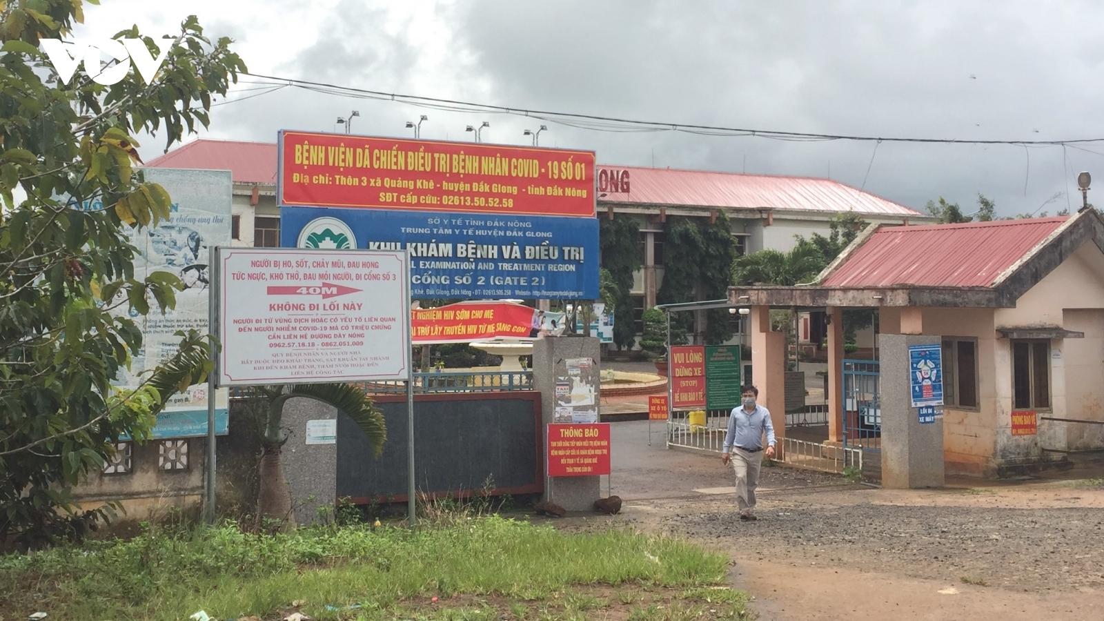 Đắk Nông đưa vào hoạt động bệnh viện dã chiến đầu tiên