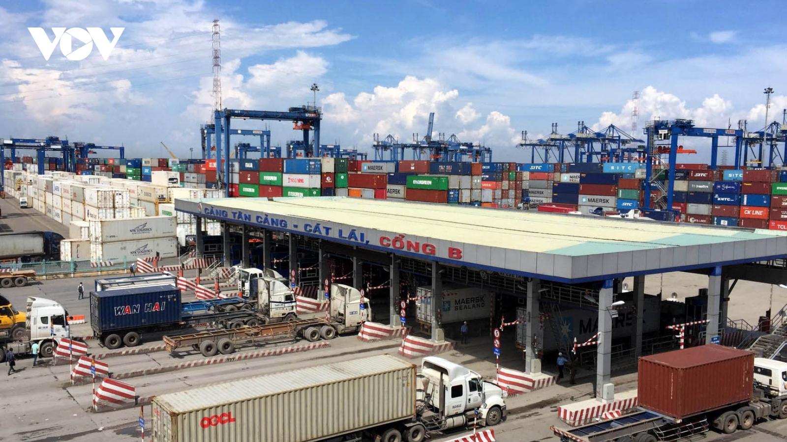 """Áp lực ở Tân Cảng Cát Lái đã""""hạ nhiệt"""", hàng tồn đã được xử lý"""