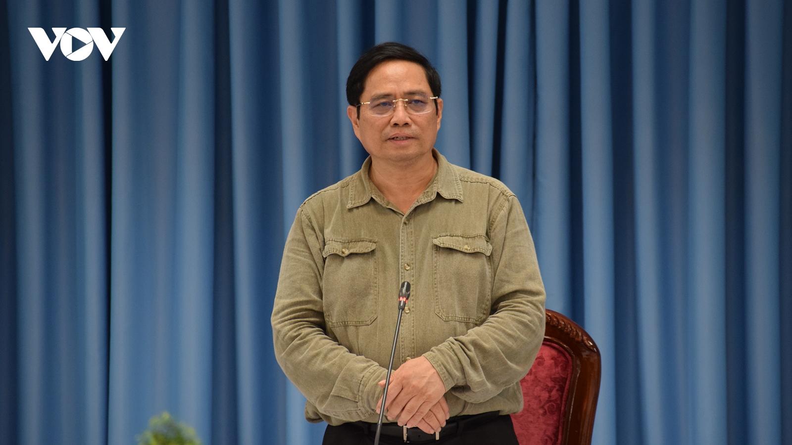 Thủ tướng Phạm Minh Chính thăm hỏi, động viên nhân dân Đồng Nai chống dịch