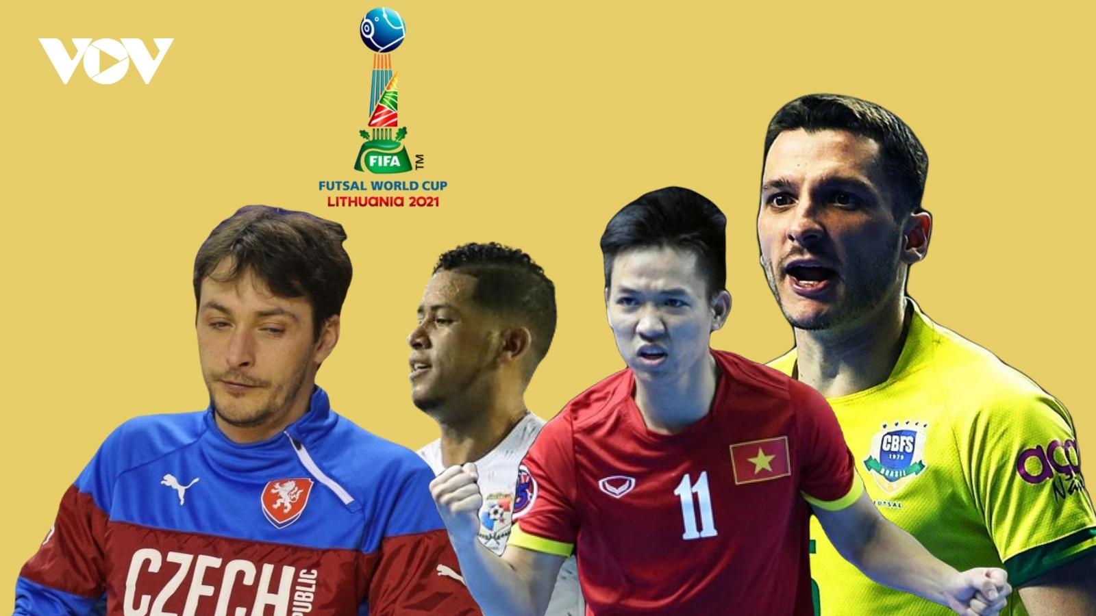 Lịch thi đấu chính thức của ĐT Futsal Việt Nam ở Futsal World Cup 2021
