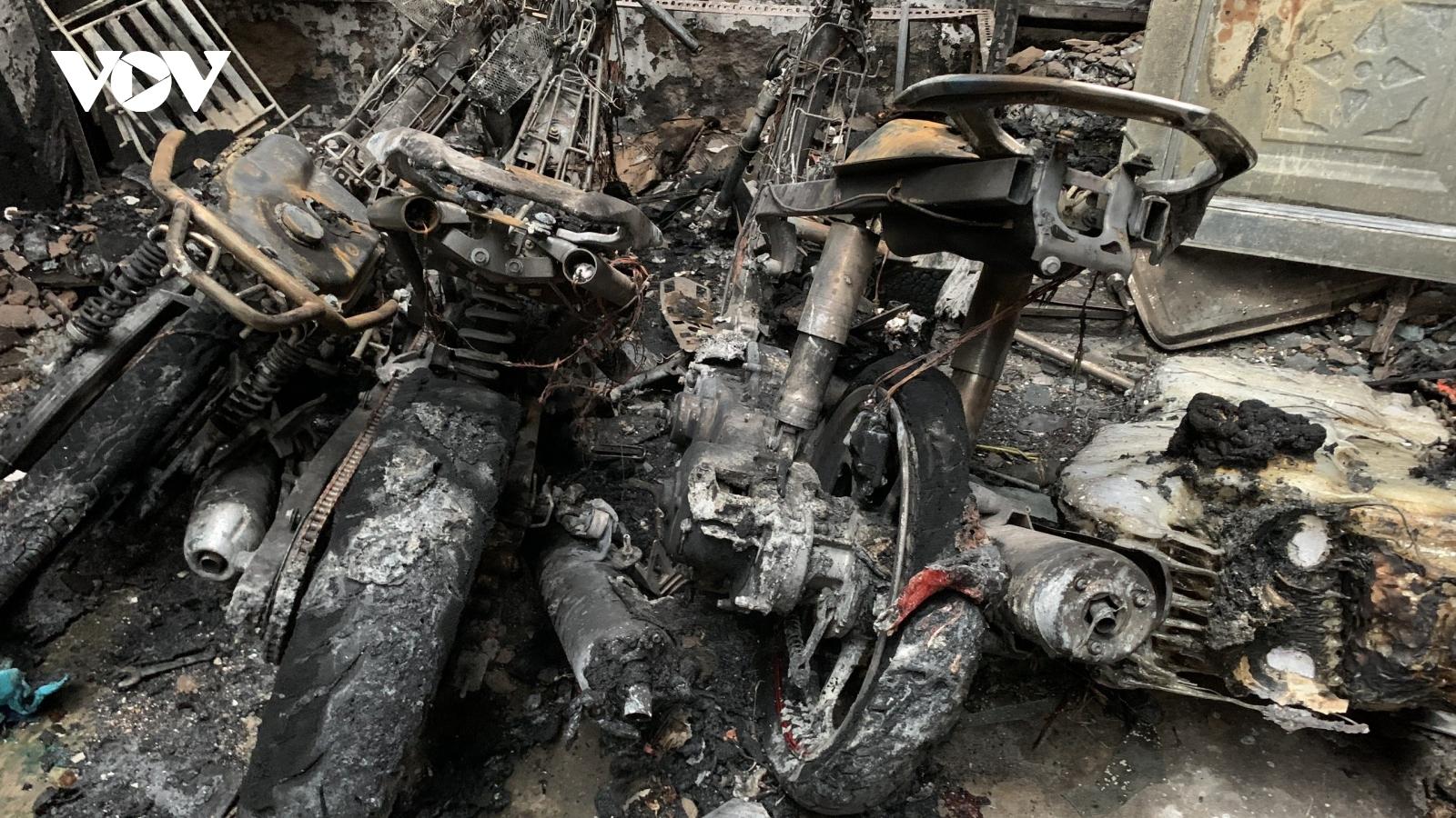 Cháy lớn tại TP.HCM khiến 1 người thiệt mạng