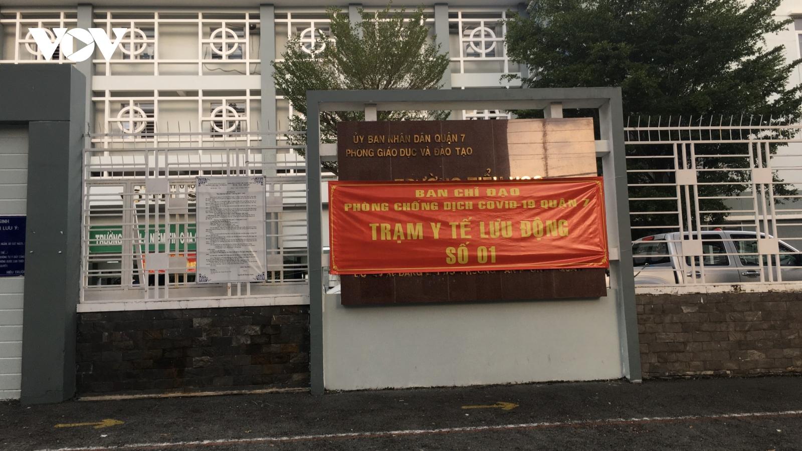 Khánh thành 2 trạm y tế lưu động chăm sóc F0 tại nhà đầu tiên tại TP.HCM