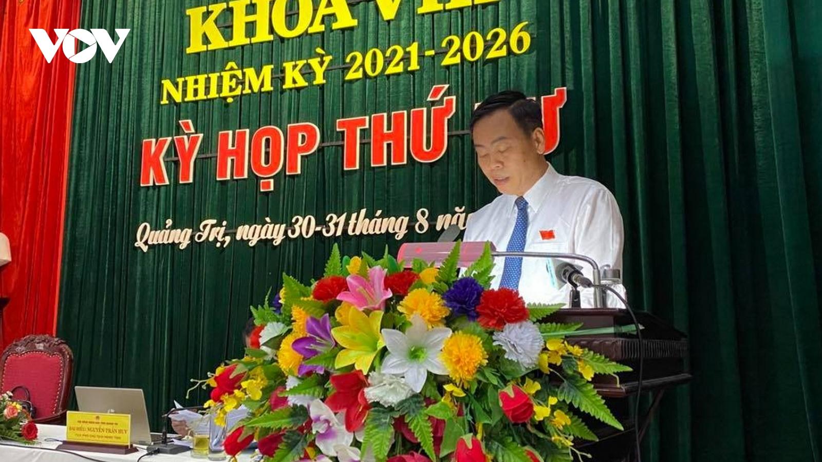 Quảng Trị rút ngắn kỳ họp HĐND tỉnh xuống còn 1 ngày