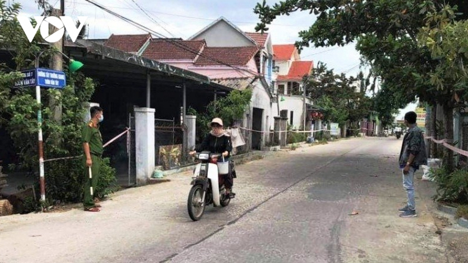 Phong tỏa 2 thôn ở huyện Thăng Bình,Quảng Namkhi phát hiện 2 ca dương tính