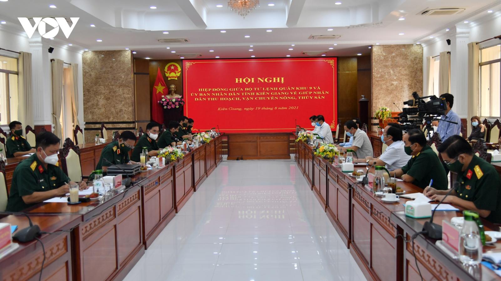 Quân khu 9, Vùng cảnh sát biển 4 đồng hành hỗ trợ nông ngư dân Kiên Giang