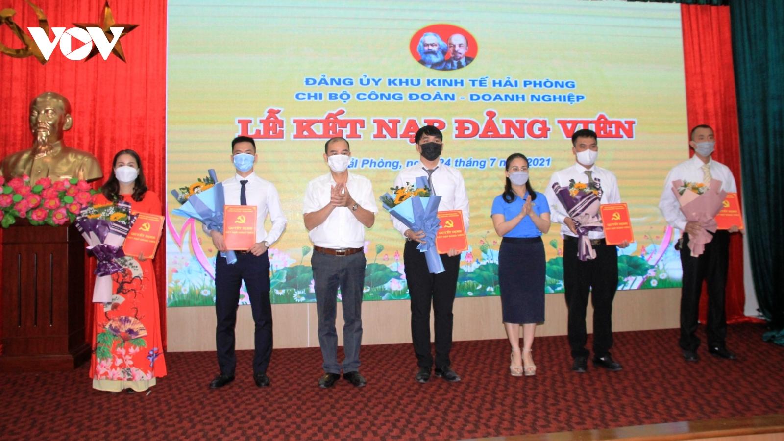 Phát triển đảng viên trong các doanh nghiệp FDI tại Hải Phòng