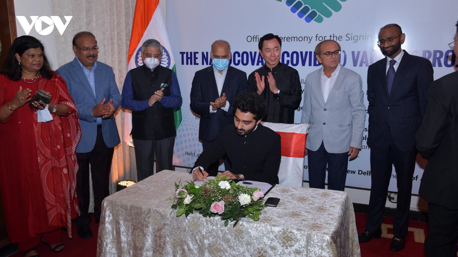 Nanogen ký thỏa thuận với đối tác Ấn Độ để sản xuất, phân phối vaccine Covid-19