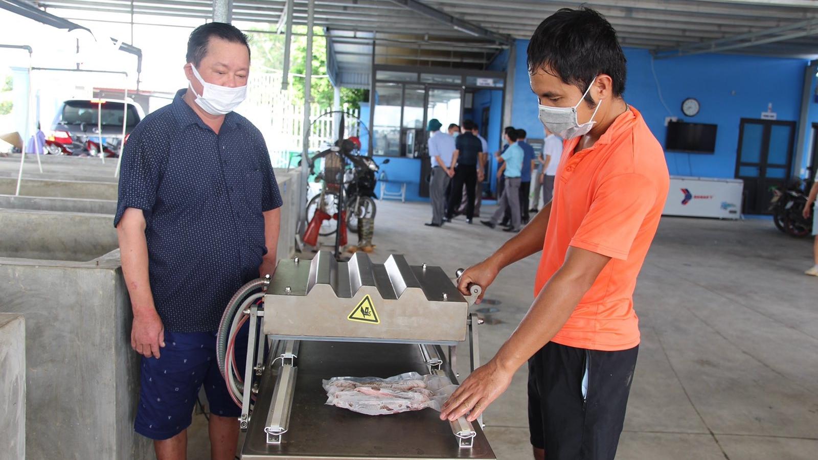 Liên kếttiêu thụ thủy sản, hạn chế thiệt hại cho người nuôi
