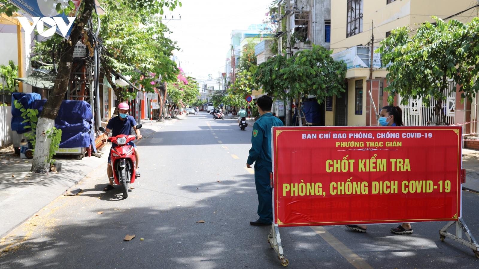 Ngày đầu tiên Đà Nẵng thực hiện giãn cách: Người dân đã hạn chế ra đường