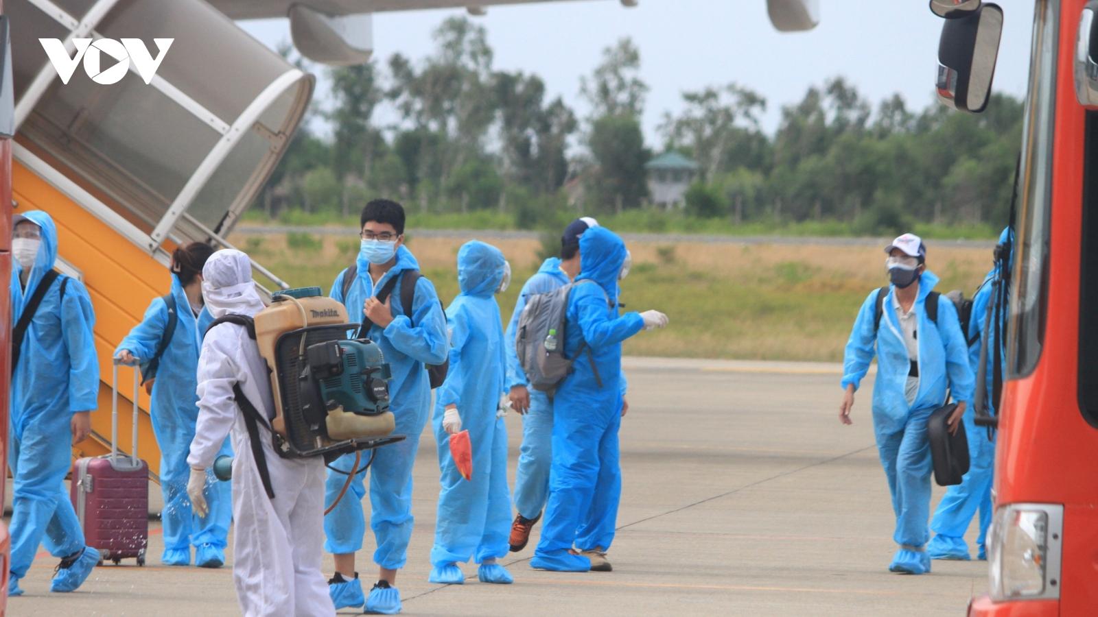 Thừa Thiên Huế đón thêm 239 công dân từ thành phố Hồ Chí Minh trở về