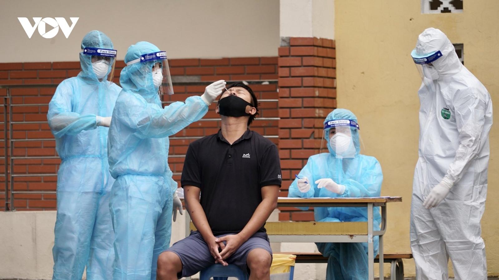 Hà Nội thiết lập vùng cách ly y tế 5 phường tại quận Đống Đa