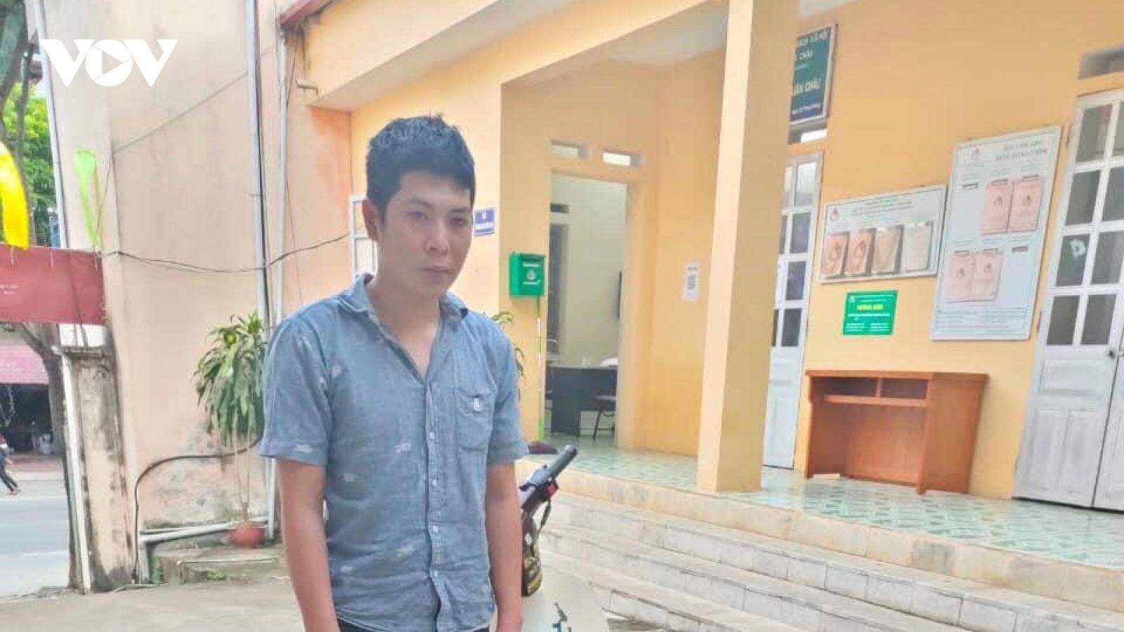 Bắt giữ đối tượng trộm xe máy tại khu trọ của học sinh