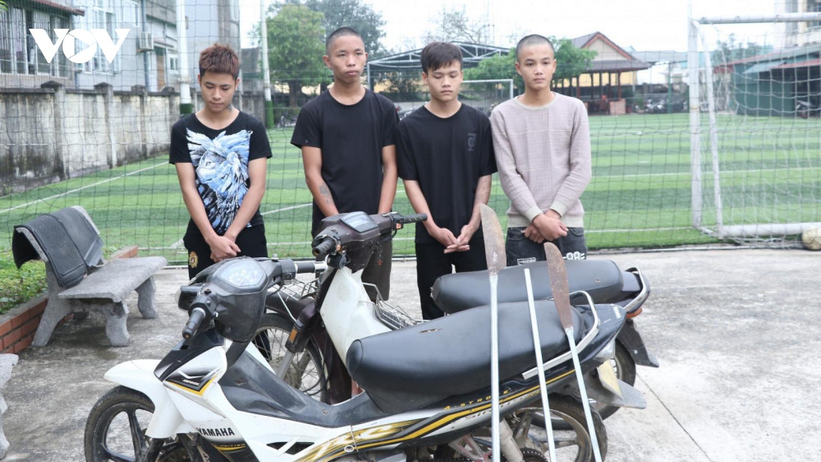 Nhóm thanh niên vác dao phóng lợn đi cướp gà bị tuyên phạt với tổng mức án gần 41 năm tù