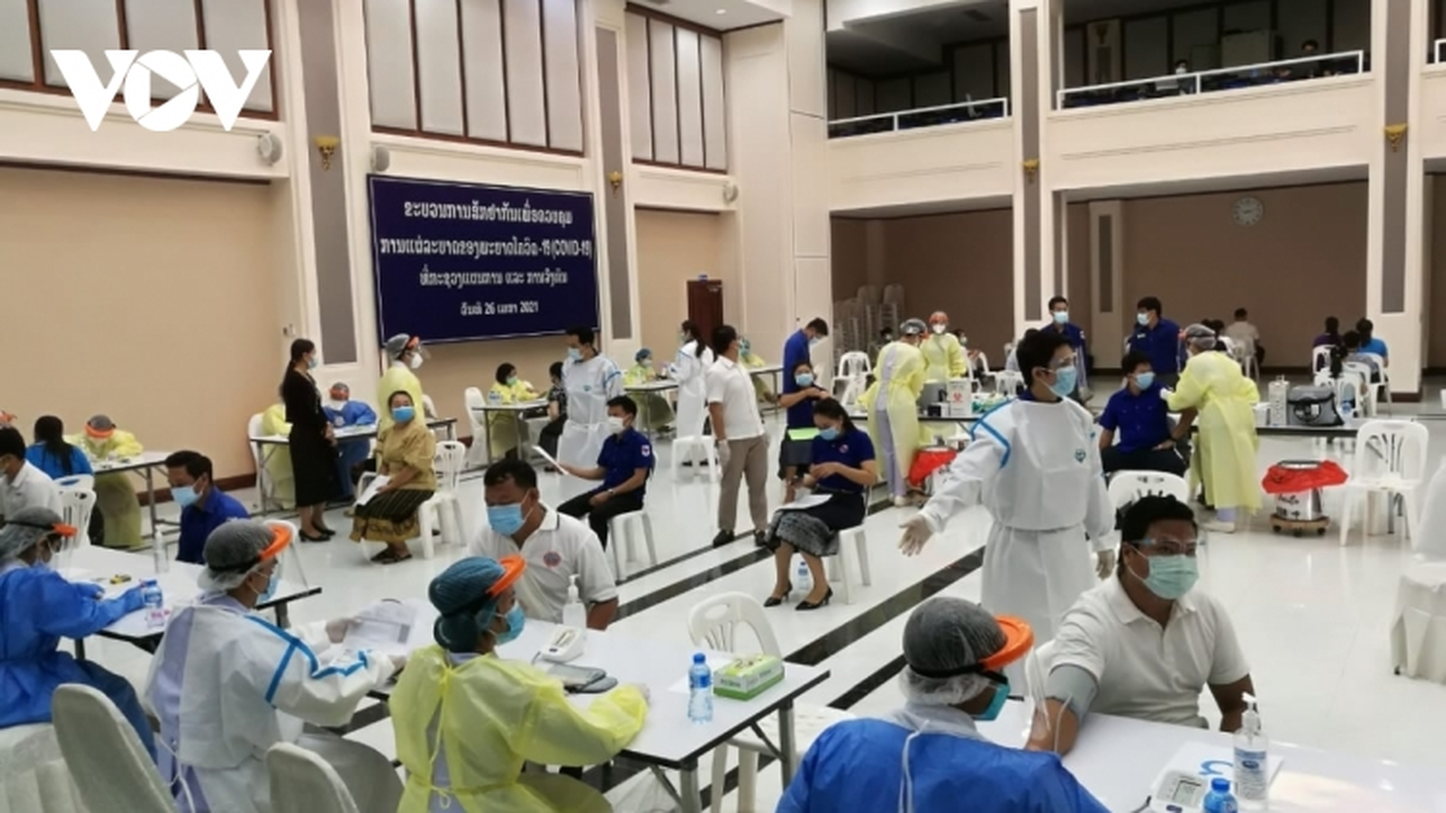 Lào sẽ tiêm vaccine ngừa Covid-19 cho nhóm đối tượng từ 12 – 17 tuổi vào năm 2022